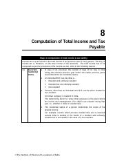 computation-of-total-income-and-tax-payable