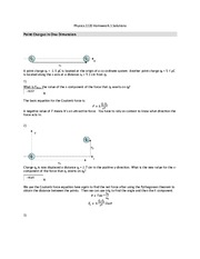 PHYS 121 Assignment 1 Solutions