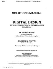 Morris Mano - Digital Designs 5th Solut...pdf