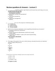 Review Questions _ Answers - Lecture 2