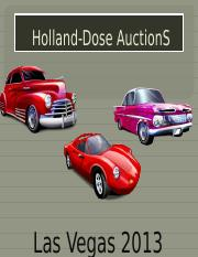 Holland-Dose AuctionS