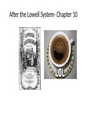 After_the_Lowell_System_Chapter_10_PowerPoint