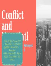 6-Conflict and Negotiation