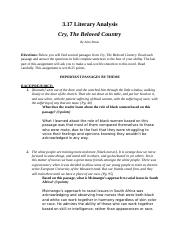 3.17 Cry, The Beloved Country Literary Analysis (1).docx
