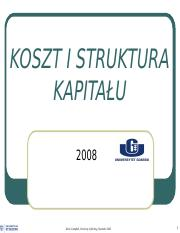 195.KC Cost of capital lecturefff -kisk