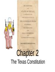 Ch 2 Constitution 2016