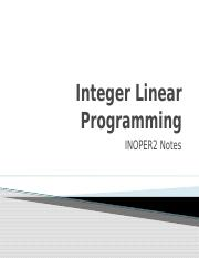 Integer Linear Programming Updated.pptx