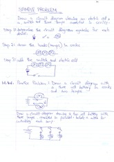 SNC1D Electric Current an Potential Difference Notes