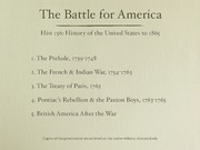 14. Battle for America