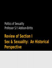 Review Sex A Historical Perspective-1