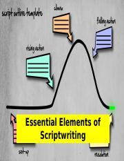 Essential Elements of Scriptwriting.pptx