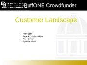 FINAL Buffone crowdfunder customer landscape