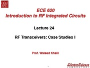 Lect24_RF Transceivers Case Studies I