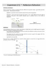 Exp # 212 - Reflection-Refraction.pdf