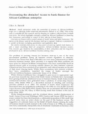 Overcoming the obstacles - Access to bank finance for African Caribbean enterprise.pdf