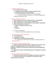 Chapter 10 Orgnizational Communication Lecture Notes