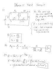 Physic 1C Summer 16 Test 1 Solution 1