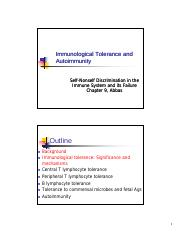 Immunology, lecture 9,tolerance and autoimmunity, Abbas student [Compatibility Mode](1).pdf