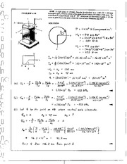 421_Mechanics Homework Mechanics of Materials Solution