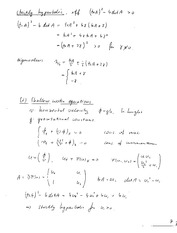 Math 667 Strictly Hyperbolic Notes