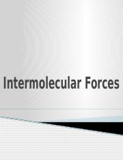 Intermolecular-Forces