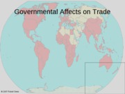 Chap 10 government affects on trade