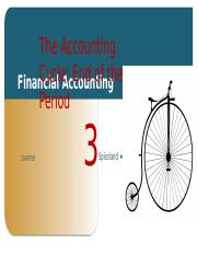 Financial Accounting Chapter #3