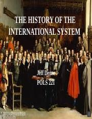 03 THE HISTORY OF INTERNATIONAL RELATIONS