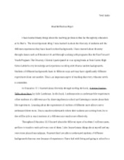 com final paper letter of advice pages apa format 3 pages final reflection paper