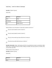 Answer Key ….. 02.01 Is it a Want or a Need Quiz