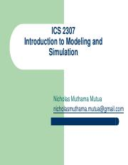 2. Introduction to Modeling and Simulation.pdf