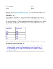 Lab7_energy.docx - Lab 7 Worksheet Name Energy Section ...
