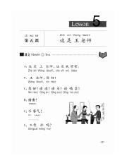 Level 1 - Lesson 5 - This is Wang Teacher