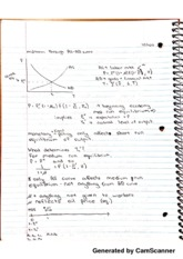 Class Notes 10:11:12 AS-AD Curve