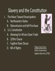 02 Slavery and the Constitution