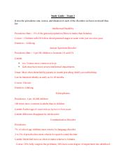 Exam 2 - Study Guide completed .docx