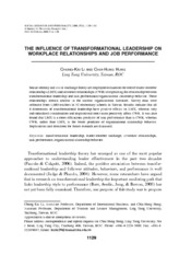 busi310 transformational leadership peer review 1 journal 15 pages