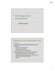 2-1 third degree price discrimination