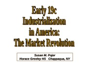 Early19cIndustrializationInAmerica