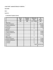 Week 1 Case study template Denison Hospital Budget(3).xls
