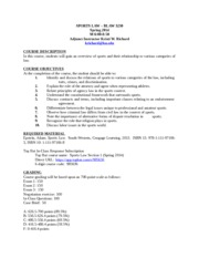 Spring 2014 Syllabus-Revised