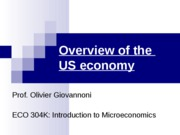 Ch 0 - Overview of the US economy