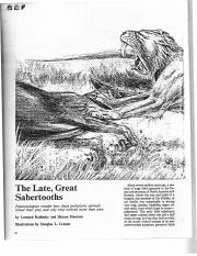 The Late, Great Sabertooths.pdf