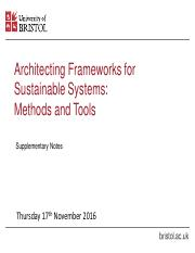 Day 4 - Thursday 17th Nov - Systems Architecting Methods and Tools [Full Supplementary Notes].pdf