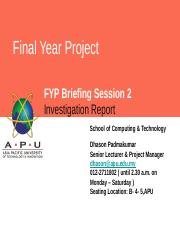 5.0 SESSION 5 INVESITIGATION REPORT - IR - SUBMISSION.pptx