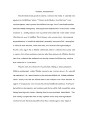 movie essay outline thesis in tragedies people will never  4 pages violence in the media essay