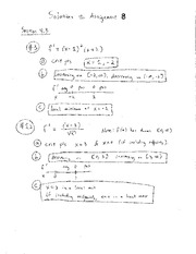HW 8 - Solutions