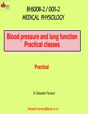 Physiology practical write-up seminar