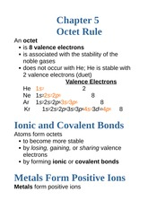 5.1+Octet+Rule+and+Ions