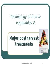 Lecture 8 Fruit and vegetables 2